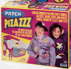 Patch Pizzazz From The 1990s