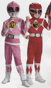 Mighty Morphin Power Rangers Costumes From The 1990s