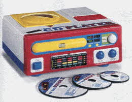 Tot Tunes CD Player From The 1990s