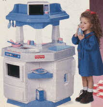 1995 popular boys and girls toys from the nineties for Playskool kitchen set