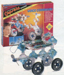 Capsela 3000 Voice Command From The 1990s