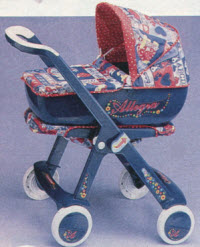 Grazioli Convertible Stroller/Baby Doll Carriage From The 1990s