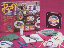 Crayola Jazzy Accessories Press It Perfect Flowers From The 1990s