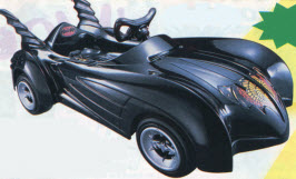 Ride-On Batmobile