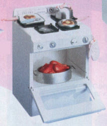 Kitchen Little Deluxe Stove From The 1990s
