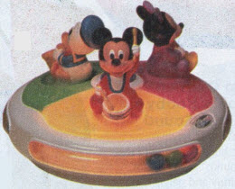 Disney Touch and Sound Lights-Go-Round From The 1990s