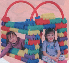 Slinky Monster Blox From The 1990s
