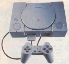 Playstation with Controller From The 1990s
