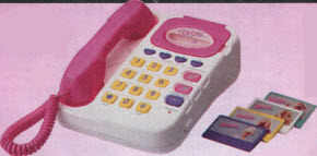 Barbie Super Talking Answering Machine Telephone From The 1990s