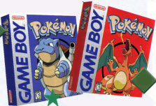 Pokemon Gameboy Game from the late 90s