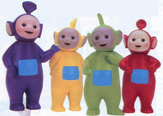 Popular Late 90s Teletubbies Figures