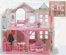 Barbie Dream House From The 1990s