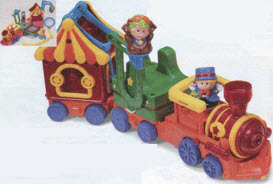 Fisher Price Little People Big Top Train From The 1990s