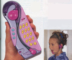 Clueless Hands-Free Phone From The 1990s
