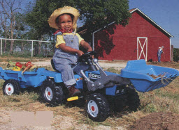 Ford Tractor From The 1990s