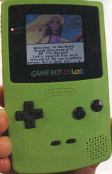 Game Boy Color From The 1990s