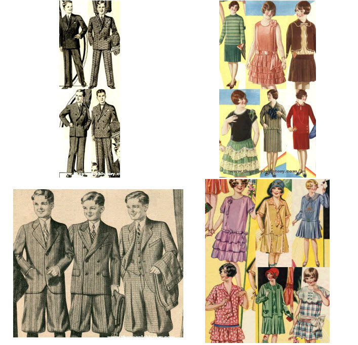 1920s Children s Fashion Part of Our Twenties Fashions Section 14