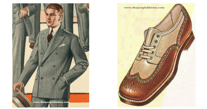 1920s Fashion Men Casual The 1920's mens clothing