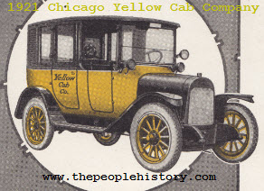 1921 Chicago Yellow Cab