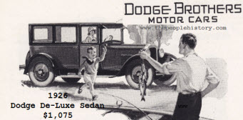 1926 Dodge Brothers De-Luxe Sedan