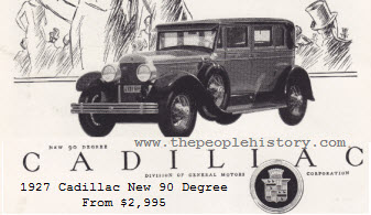 1927 Cadillac 90 Degree