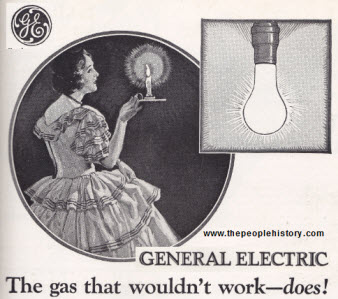 General Electric Light Bulb Advert From the Late 20's explaining how a modern Light Bulb Worked