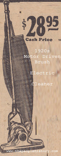 Motor Driven Brush Cleaner ( Hoover )
