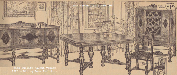 Furniture For Your Home In The 1920s With Photographs