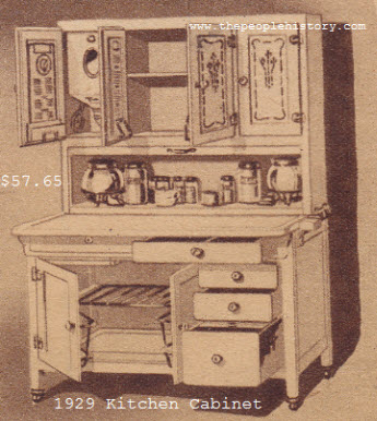 finest quality kitchen cabinet furniture for your home in the 1920s with photographs prices and      rh   thepeoplehistory com