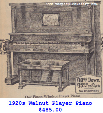 Windsor Player Piano