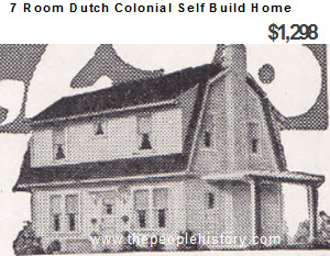Self Build 7 Room Aladin Dutch Colonial Barn Style Home