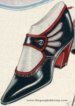 The Chateau Cut-Out Shoe 1922