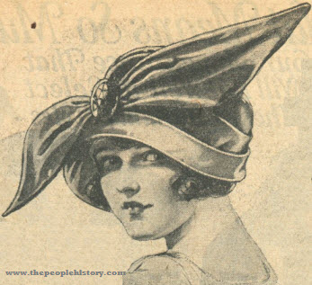 Bow Hat 1923