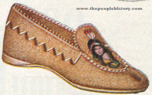 Leather Indian Moccasin 1923