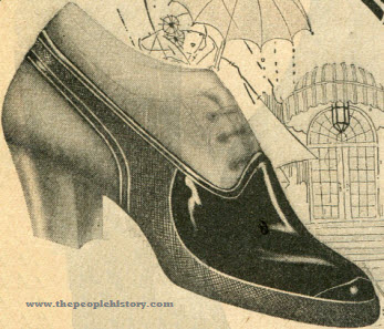 Rubber Shoe Cover 1923