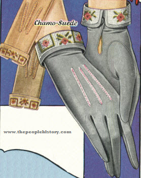 Chamo-Suede Gloves 1928