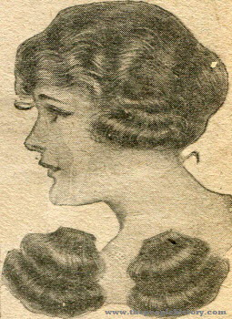 Ear Puffs Hair Piece 1920