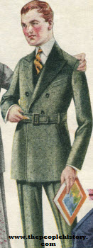 Belted Model Suit 1920