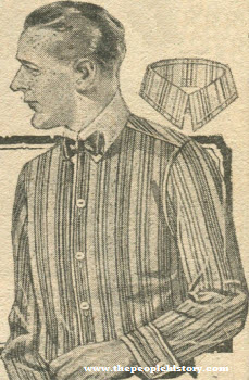 Cotton Pongee Shirt 1920