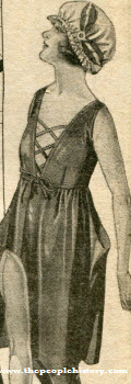 1920s Women's Bathing Suit