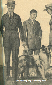 Young Men's Suits 1921