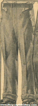 Men's Corduroy Pants 1922
