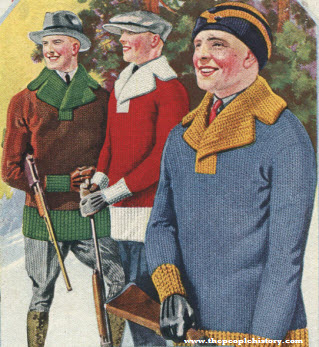 Men's Pull Over Sweater 1922