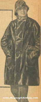 Practical Oiled Slicker 1922