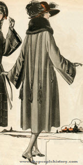 Suede Velour Coat 1922
