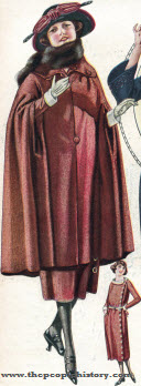 Tweed Cape and Dress 1922