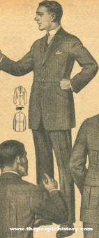 Two in One Suit 1922