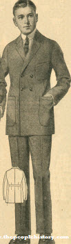 Double Breasted Suit 1923