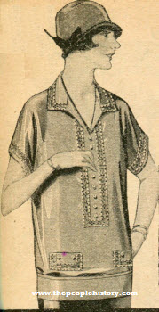 Crepe de Chine Blouse 1924