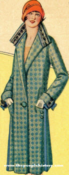 Diamond Weave Coat 1924